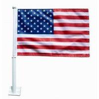 Premium US Car Flag