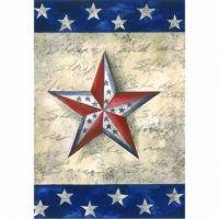 Stars on Star Garden Flag