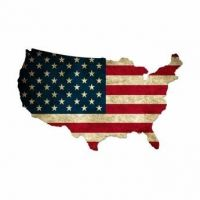 USA Nation Custom Cut Steel Sign