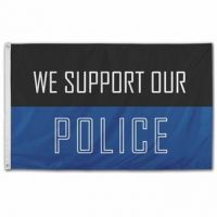 We Support Our Police Flag
