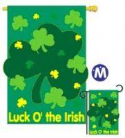 Luck O' the Irish Flag/Banner