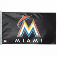 3' X 5' Miami Marlins Flag