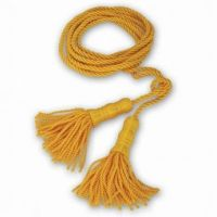 Golden Yellow Cord With Tassel