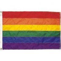 Premium Nylon Rainbow Pride Flag