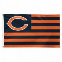 Chicago Bears Americana Flag