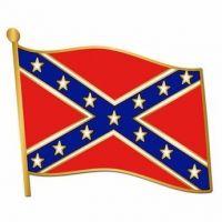 Confederate Flag Pin