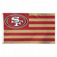 San Francisco 49ers Americana Flag