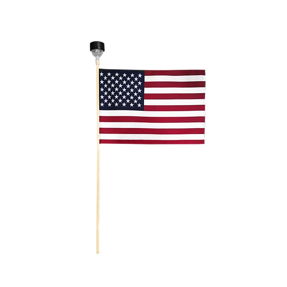 """Keep America First Wholesale Lot of 3 Trump Blue 8x12 8/""""x12/"""" Stick Flags 2020"""