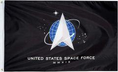 Heavy Nylon US Space Force Flag - 3' X 5'