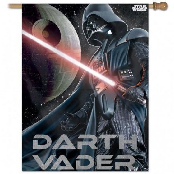 Star Wars Original Trilogy Darth Vader Vertical Flag