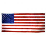 5' X 9 1/2' Annin Nyl-Glo Nylon American Casket Flag