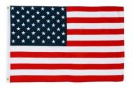 2-1/2' X 4' Econo-Poly US Flag