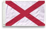 3' X 5' State-Tex Commercial Grade Alabama State Flag