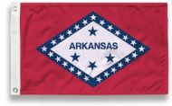 3' X 5' State-Tex Commercial Grade Arkansas State Flag