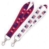 Patriotic Lanyard Key Strap