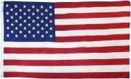 2 1/2' X 4' Americana Cotton U.S. Flag