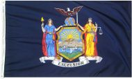 2' X 3' Nylon New York State Flag