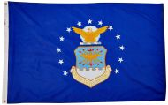 12 X 18 Inch Nylon Air Force Flag