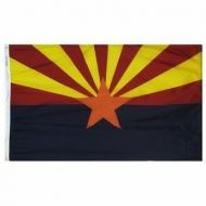 12 X 18 Inch Nylon Arizona State Flag
