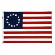 Heavyweight Nylon Betsy Ross Flag - 12 X 18 Inch