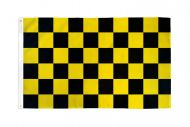 3' X 5' Economy Poly Coronavirus Warning Quarantine Flag