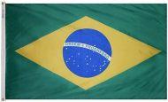 12 X 18 Inch Nylon Brazil Flag