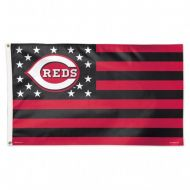 Cincinnati Reds Stars and Stripes Flag