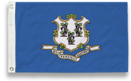 3' X 5' State-Tex Commercial Grade Connecticut State Flag