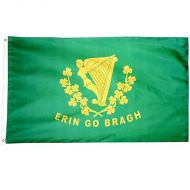 Premium Nylon Erin Go Bragh Flag - Assorted Sizes