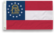 5' X 8' State-Tex Commercial Grade Georgia State Flag