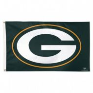 3' X 5' Deluxe Green Bay Packers Flag