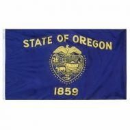 12 X 18 Inch Nylon Oregon State Flag