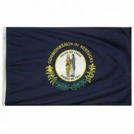 12 X 18 Inch Nylon Kentucky State Flag