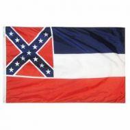 2' X 3' Nylon Mississippi State Flag