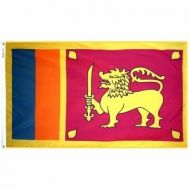 2' X 3' Nylon Sri Lanka Flag