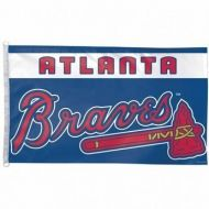 3' X 5' Atlanta Braves Flag
