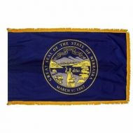 3' X 5' Nylon Indoor/Parade Nebraska State Flag