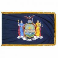 3' X 5' Nylon Indoor/Parade New York State Flag
