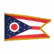 3' X 5' Nylon Indoor/Parade Ohio State Flag