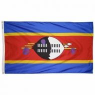 3' X 5' Nylon Swaziland Flag