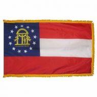 4' X 6' Nylon Indoor/Parade Georgia State Flag