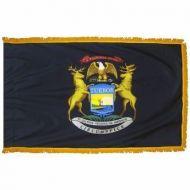 4' X 6' Nylon Indoor/Parade Michigan State Flag