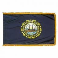4' X 6' Nylon Indoor/Parade New Hampshire State Flag
