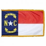 4' X 6' Nylon Indoor/Parade North Carolina State Flag