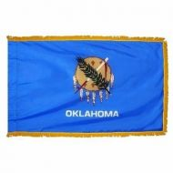 4' X 6' Nylon Indoor/Parade Oklahoma State Flag