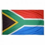 4' X 6' Nylon South Africa Flag