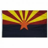 5' X 8' Nylon Arizona State Flag