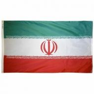 5' X 8' Nylon Iran Flag