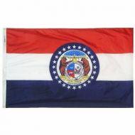 5' X 8' Nylon Missouri State Flag
