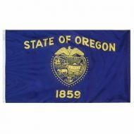 5' X 8' Nylon Oregon State Flag